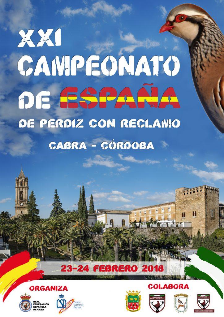 Campeonato España Perdiz 2018