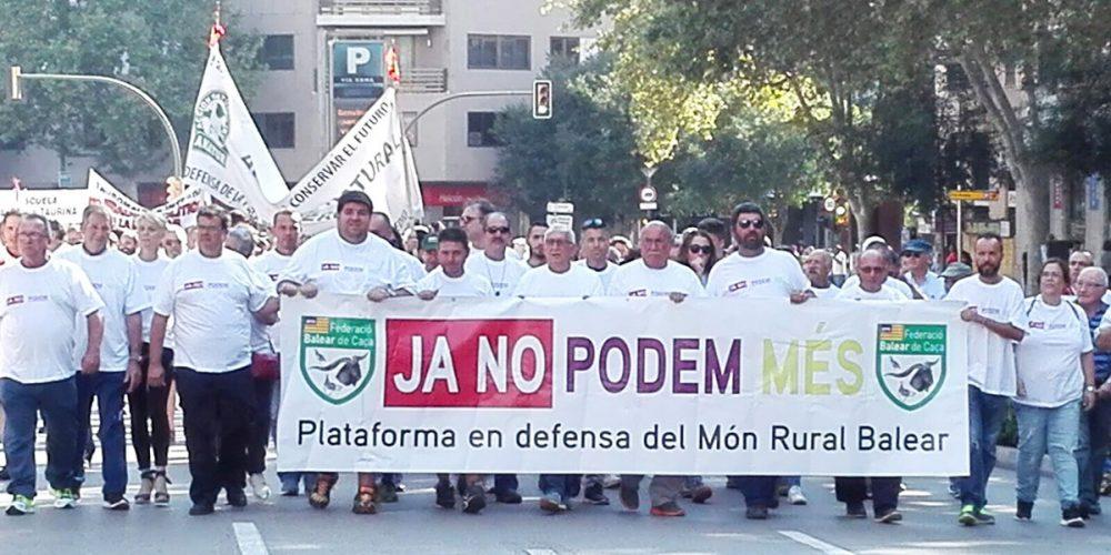 """Manifiesto """"Ja No Podem Més"""", leído en la manifestación celebrada hoy"""