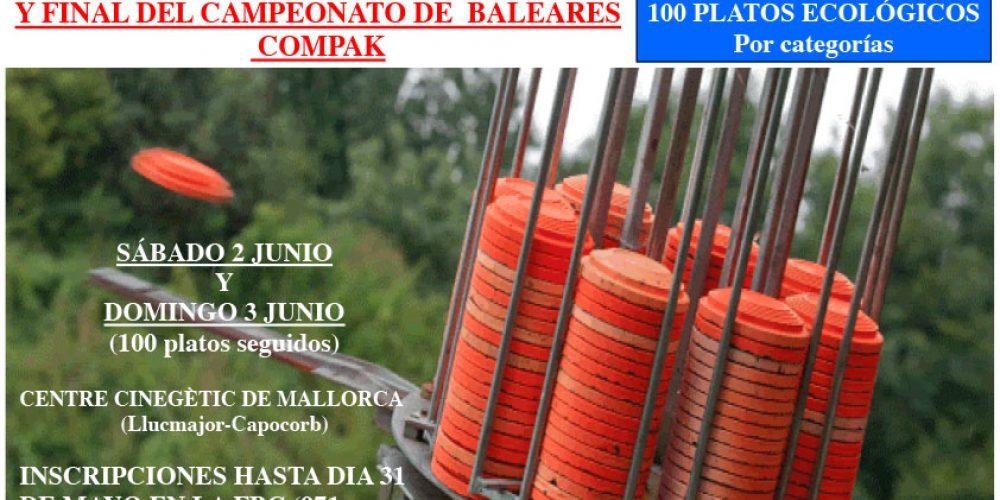II Tirada puntuable y final Campeonato de Baleares de Recorridos de Caza