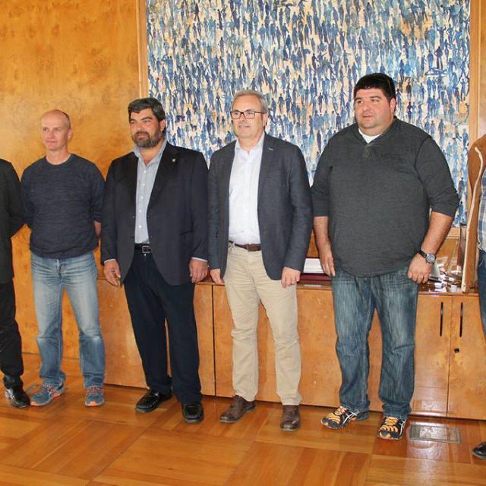 Primer encuentro con el presidente del Consell d'Eivissa