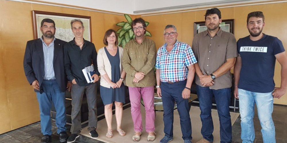 Audiencia de la presidenta del Consell Insular de Menorca