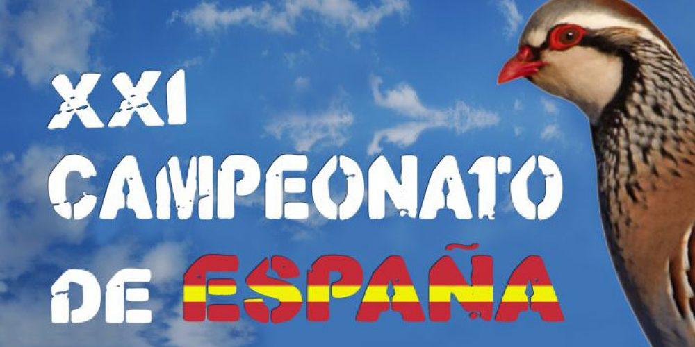 Cabra acogerá los próximos días 23 y 24 de febrero el XXI Campeonato de España de Caza de Perdiz con Reclamo Macho