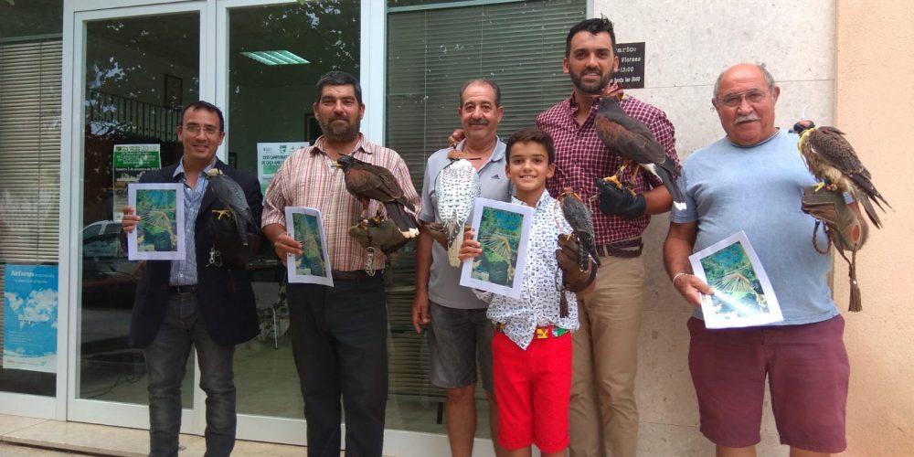 La Federación y el Club de Cetrería de las Islas Baleares publican el primer manual moderno de cetrería en Baleares