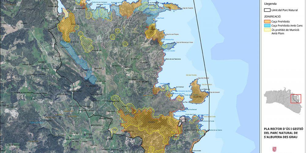 Ara toca a Menorca – Anunci d'informació pública en el procediment per declarar Zones Especials de Conservació (ZEC) i aprovar el Pla de Gestió Natura2000 de la costa est de Menorca i Pla rector d'Ús i Gestió del Parc Natural de s'Albufera des Grau