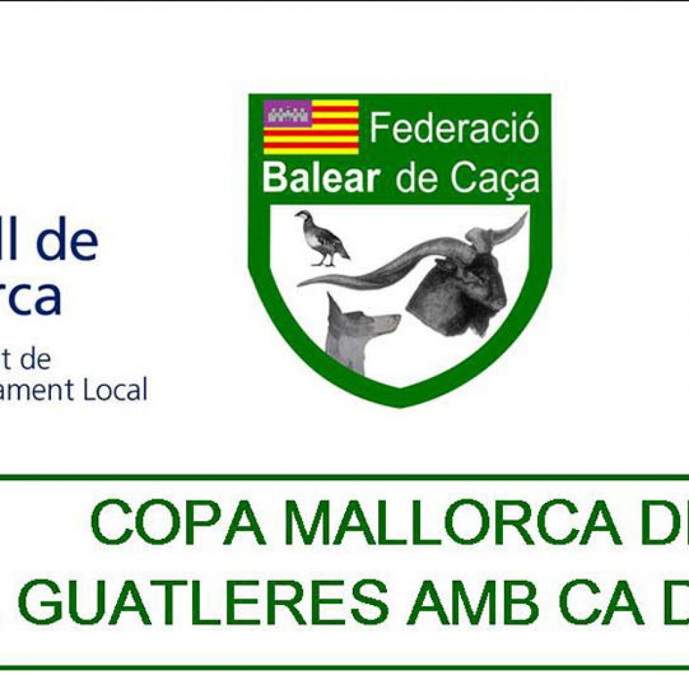 Nueva prueba Copa Mallorca de caça de guatleres amb ca de mostra