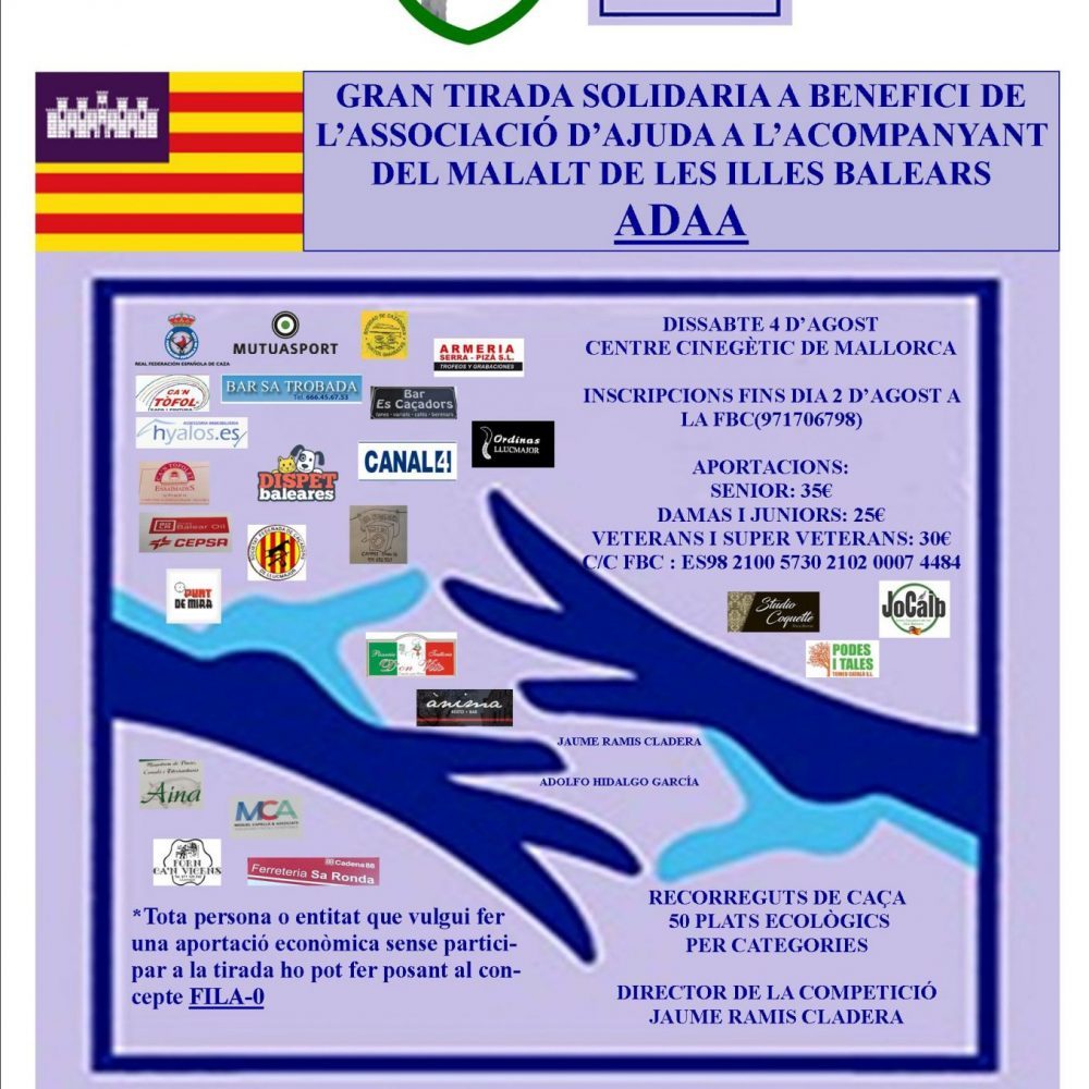 La Gran Tirada Solidaria a beneficio de ADAA suma nuevos colaboradores