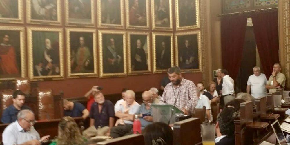 La Federación pide al alcalde en el Pleno del Ajuntament de Palma que se permita cazar ya en los terrenos libres adyacentes al Aeropuerto de Palma