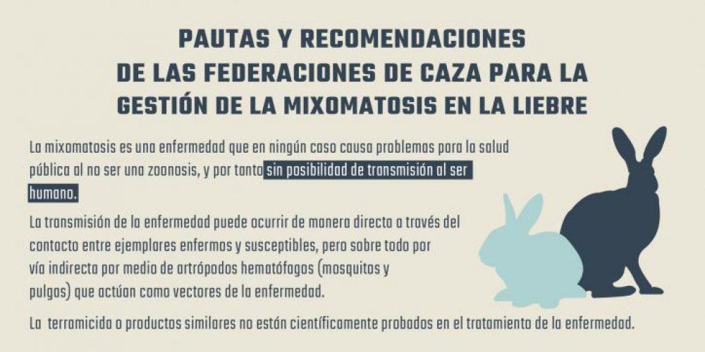 La RFEC y las FFAA seguimos trabajando para atajar la situación de la mixomatosis en las liebres