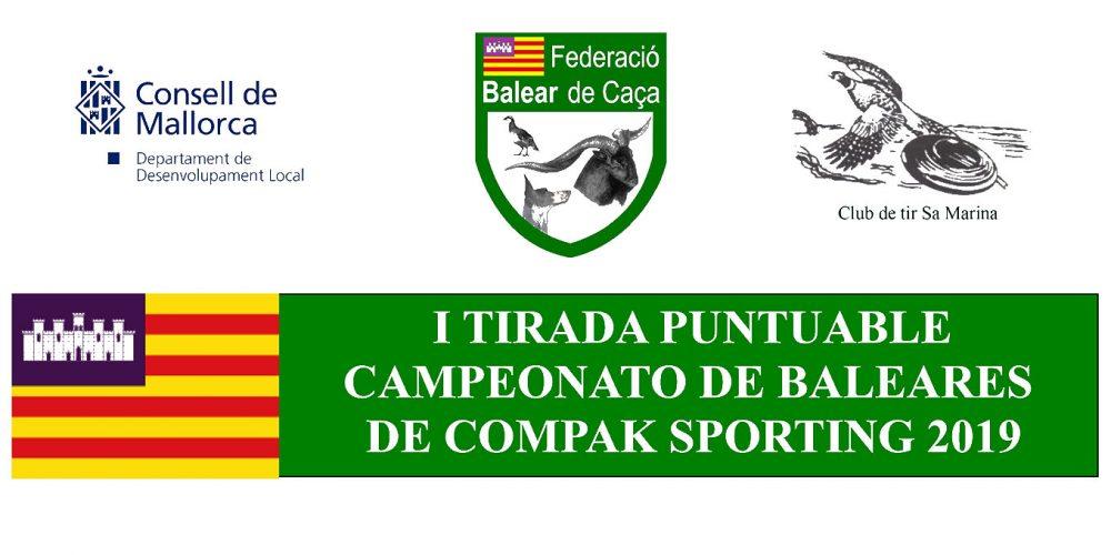 Primera prueba puntuable para el Campeonato de Baleares de Compak Sporting