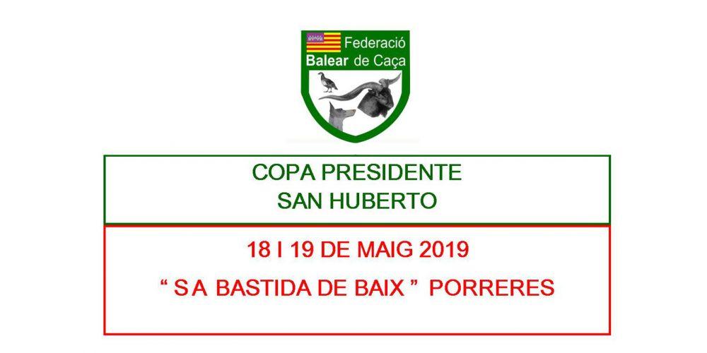 """Próxima Copa Presidente """"San Huberto"""""""