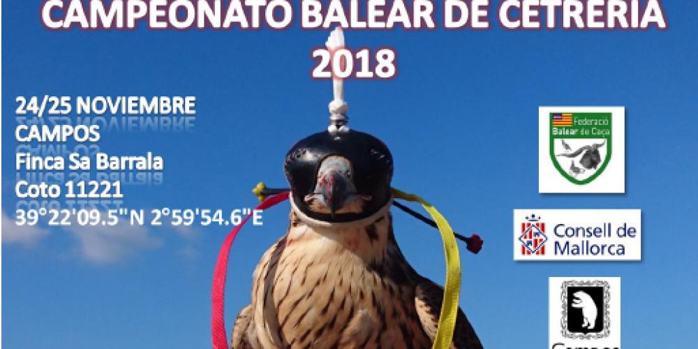 Campeonato Balear de Cetrería 2018