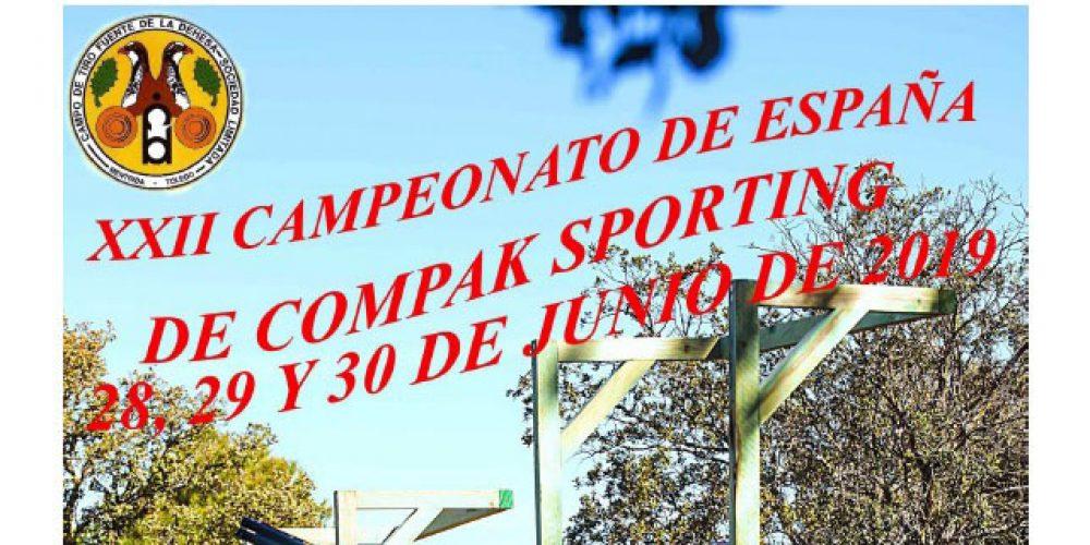 Todo listo para la celebración del XXII Campeonato de España de Compak Sporting