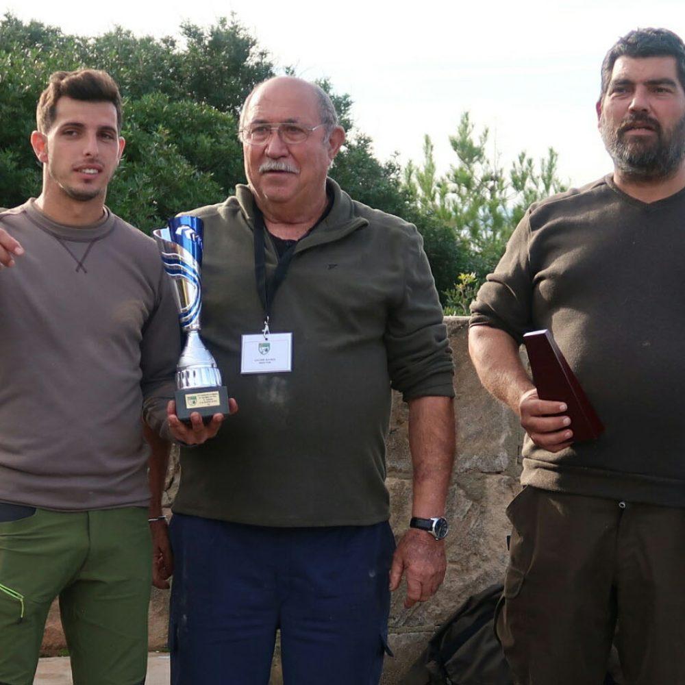 Clasificados del Campeonato de Baleares de caza menor con perro