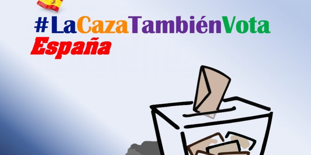 La RFEC inicia la campaña #LaCazaTambiénVota España