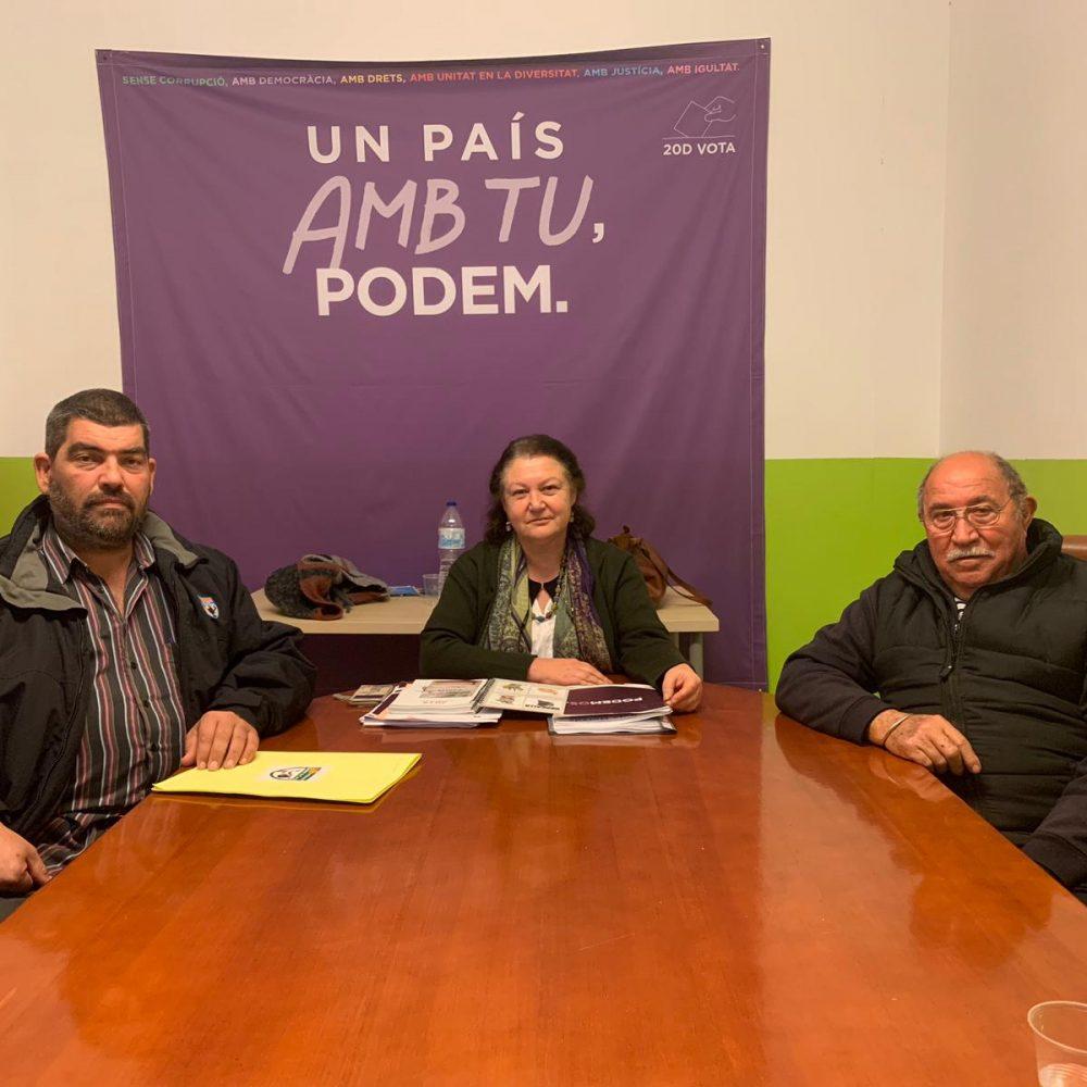Reunión con Podemos Illes Balears