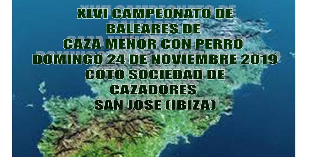 XLVI Campeonato de Baleares de Caza Menor con Perro