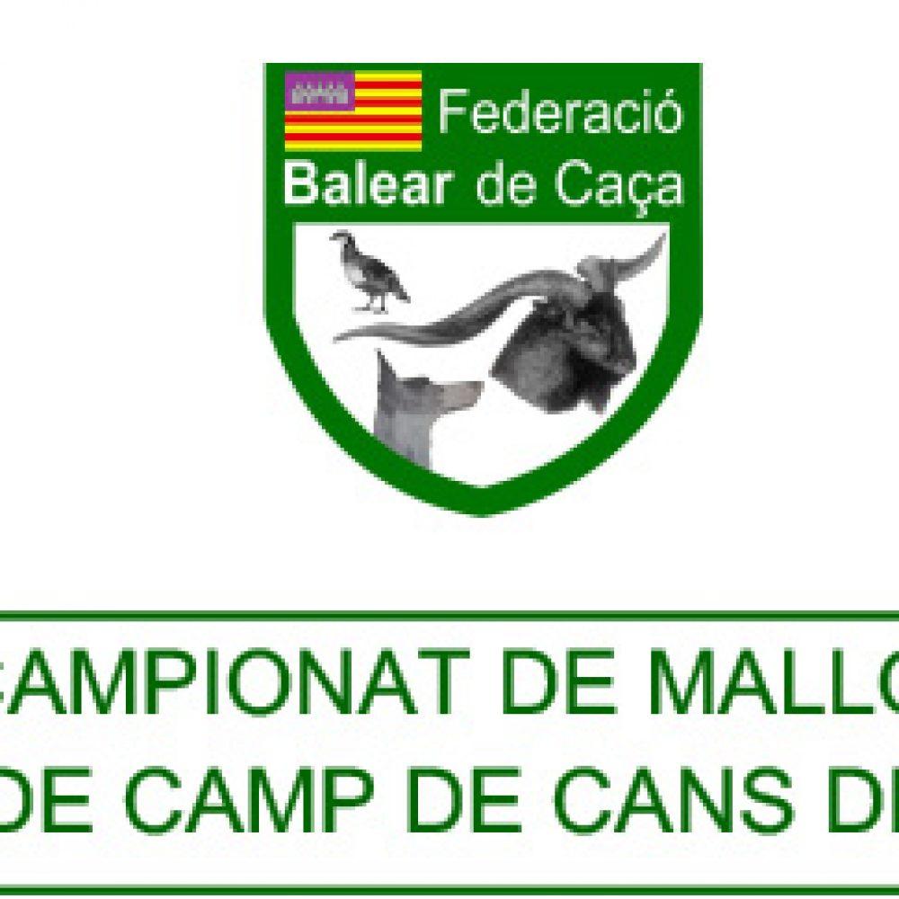 Nuevo Campeonato de Mallorca   Prova de Camp de Cans de Mostra