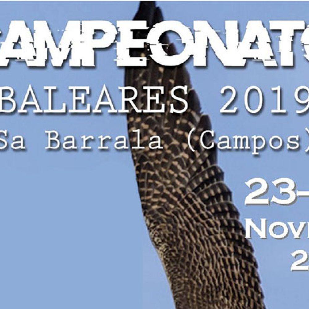 Campeonato Balear de Cetrería 2019