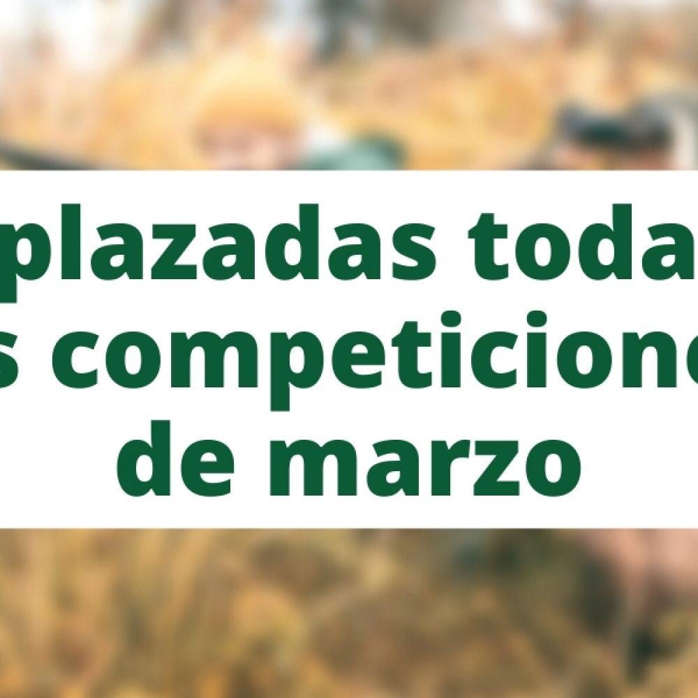 La Federación aplaza todas las competiciones programadas para el mes de marzo
