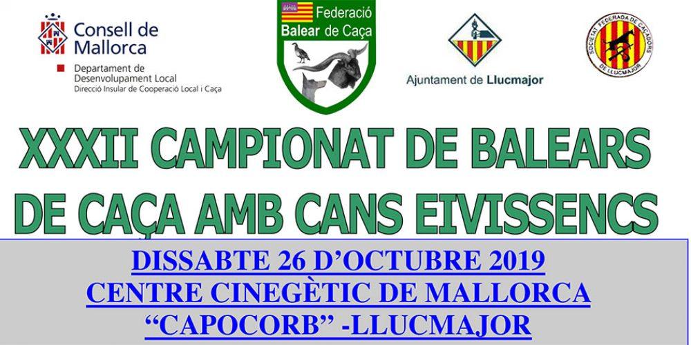 XXXII Campeonato de Baleares de Caza con Podenco Ibicenco