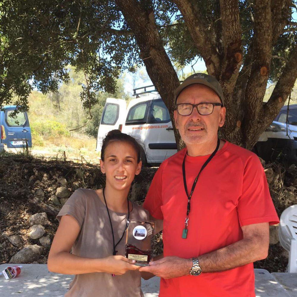 """Clasificación del Campeonato de Baleares """"prueba de caza con perro de muestra"""""""