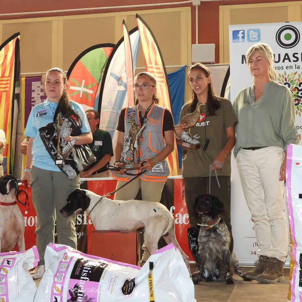Victoria de Neus Jaume Palmer en la primera Copa Federación San Huberto