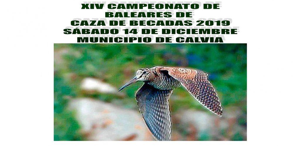 ABIERTA la inscripción al XIV Campeonato de Baleares de Caza de Becadas