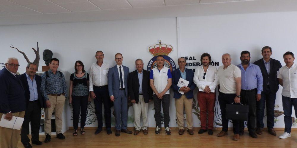 RFEC y FACE se reúnen en Madrid para tratar el futuro de la caza en Europa