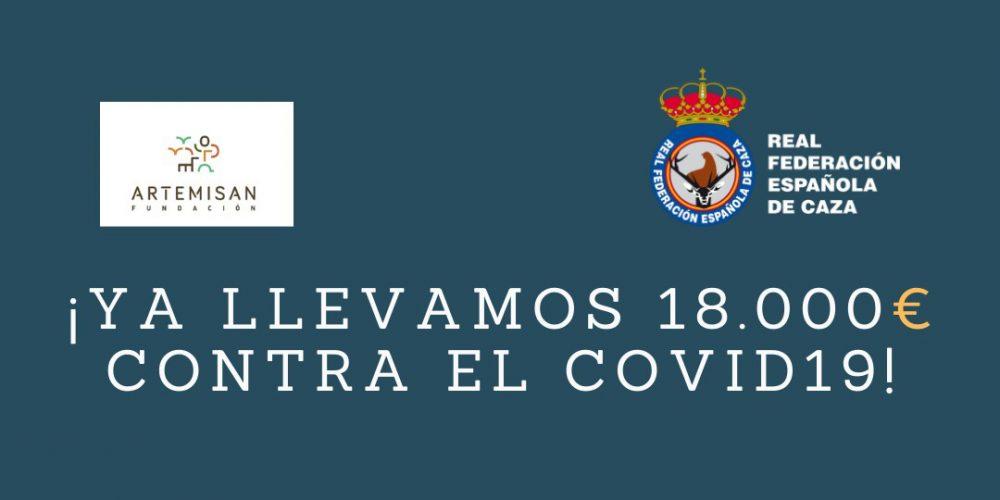 Las Federaciones de Caza y Artemisan donan 18.000 € para luchar contra el COVID-19