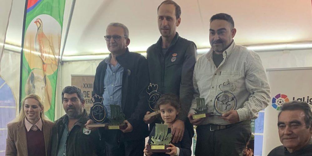 Antonio Pons y su pájaro «Cap Blanc» ganan el XXIII Campeonato de España de Perdiz con Reclamo