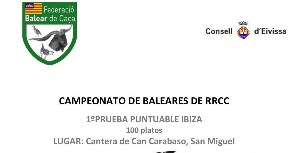 Campeonato de Baleares de Recorridos de Caza en Ibiza