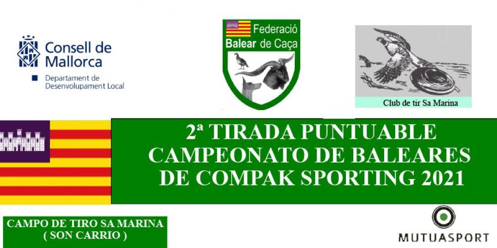 Empieza la inscripción para la segunda prueba del Campeonato de Compack Sporting