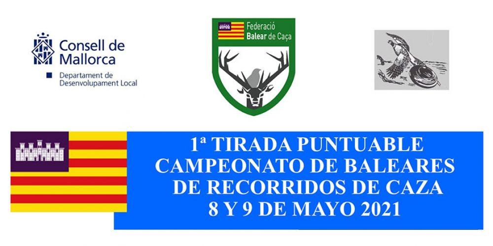 Abierto el plazo de inscripción para la primera prueba del Campeonato de Baleares de Recorridos de Caza