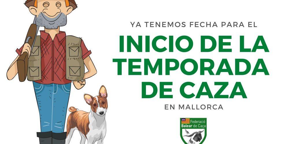 Ya tenemos fecha para el inicio de la temporada de caza en Mallorca