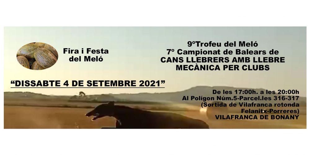 Abierta la inscripción para el Campeonato de Baleares de Cans Llebrers amb llebre mecànica per clubs