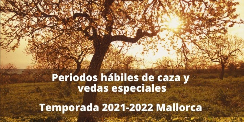 Publicada la orden de vedas de Mallorca para el periodo 2021-2022