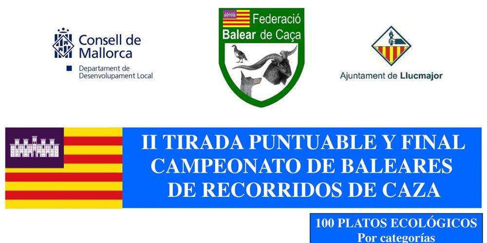 Segunda prueba puntuable al campeonato de Baleares de Recorridos de Caza