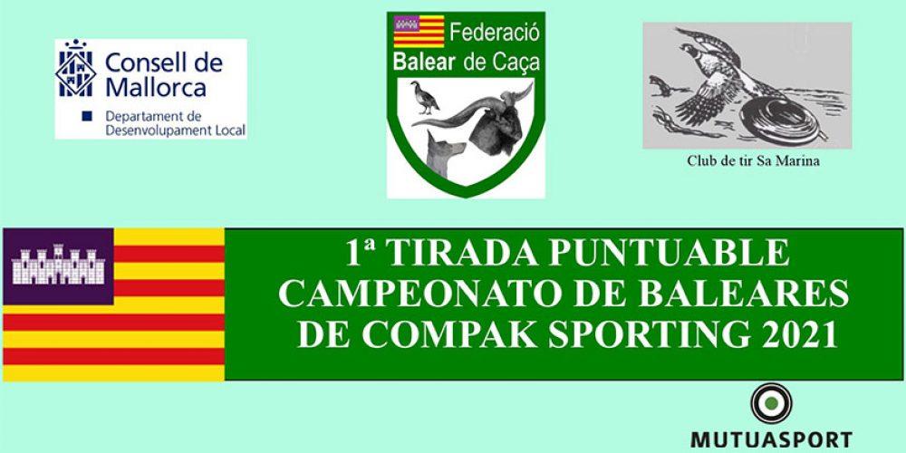 Arranca el Campeonato de Baleares de Compak Sporting de 2021
